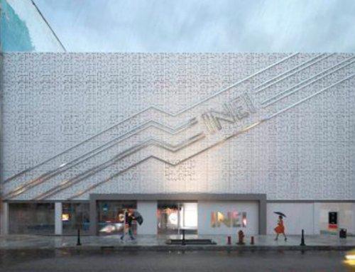 INEI: Propuesta de diseño remodelacion de hall de ingreso y fachada principal